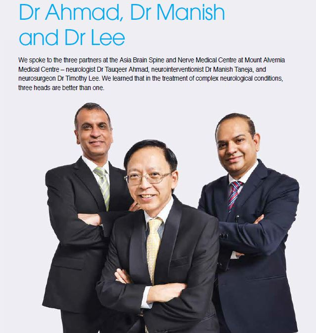 Conversation with Dr Ahmad, Dr Manish and Dr Lee [Featured in My Alvernia Issue 42/43]